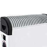 Heizgerät mit Frostwächter 12Std Timer 2000W Konvektor Heizer Radiator Heater Elektrische Heizung Elektroheizung - 7