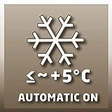 Einhell Frostwächter FW 500 (500 Watt, Mica Heizelement, stufenloses Thermostat, Stand- oder Wandgerät, Frostschutz) - 6