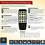 THRONER EXKLUSIV Massagesessel (Schlafsessel) mit elektrischer Aufstehhilfe und 5-Punktmassage in Hellbeige, Made in Germany - 2