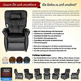 THRONER EXKLUSIV Massagesessel (Schlafsessel) mit elektrischer Aufstehhilfe und 5-Punktmassage in Hellbeige, Made in Germany - 4