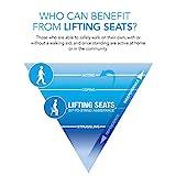 Uplift Sitzhilfe Kissen, Kapazität 90-160kg - 6